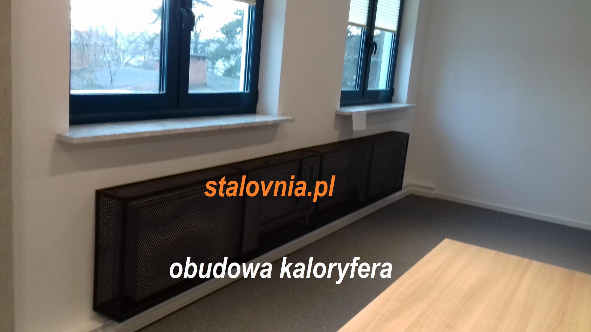 Obudowa kaloryfera w Warszawa.